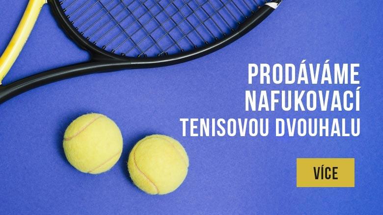 Nafukovací tenisová hala na prodej